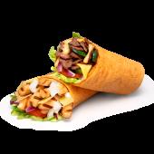 Menú Wrap Chicken Caesar (Con salsa César y lascas de parmesano)