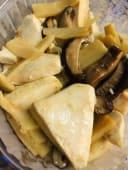 73.Tau-fu con funghi e bambù