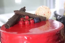 Tort zmeura litchi