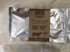 Pranzo completo per cani Hamburger di vitello  e verdure 100% naturale  gr 200