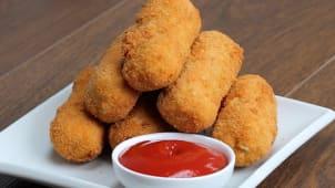 Chicken cheese nuggets