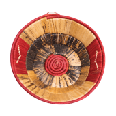 Red Banana Weaved Basket