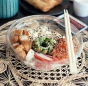 Gohan completo 1 (sushi al plato)