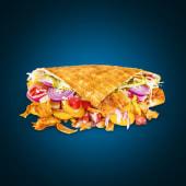 Gyros Waffle