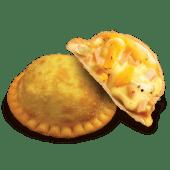 Empanada pizza hawaiana