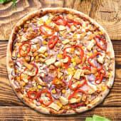 Pizza barbeque cu pui Ø 30cm