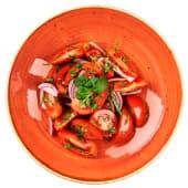 Салат з томатами, кінзою і м'ятою (250г)