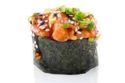 გუნკანი Spicy Salmon/Gunkan Spicy Salmon