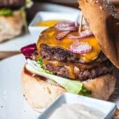 Dallas cheeseburger (double)