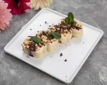 Солодкий рол з шоколадно-горіховою пастою та бананом (310г)