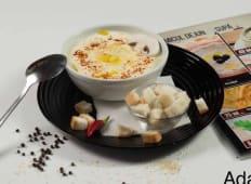 Supa crema de ciuperci cu pui