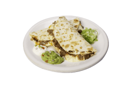 Quesadillas de lomo y pollo