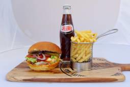 Meal Deal Halloumi Burger