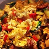 Spanish Scrambled Eggs