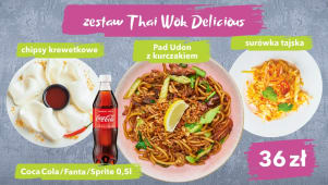 Zestaw ThaiWok Delicious