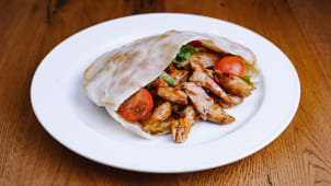 Teriyaki Chicken Pita