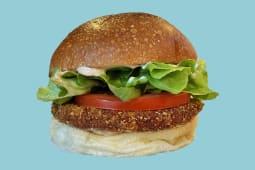 Medium burger pollo