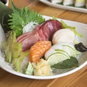 Sashimi variado (15 uds.)