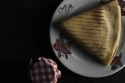 Toast palačinka komad
