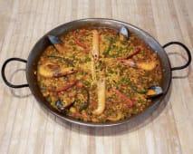 Paella de marisco (para 4 personas)
