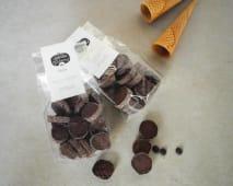 Bolachas Artesanais de Chocolate Extra Dark
