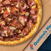 Pizza Mediana - Texas BBQ Crispy