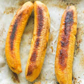 3 Roasted plantains