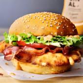 Chicken fried sandwich