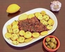 Bife da Vazia à Portuguesa