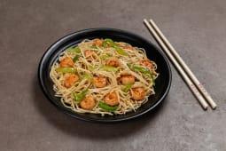 Chaw mein de camarón
