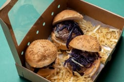 Surtido de mini hamburguesas de carne madurada (3 uds.)