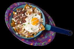 Chilaquiles Doña Carmen con Huevo y pollo