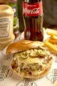 Royal Flush Burger