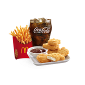McNuggets® 6 Pieces Medium Meal