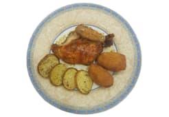 Delicatessen 1/4 pollo