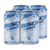 Promo: 4 Pack Cervezas Busch Light