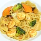 0352. Udon con Gamberi & verdure