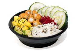 Langos salad