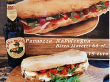 Combo 2-Panuozzo Napulegna e birra 66 cl