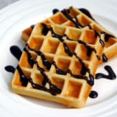 Belgian Waffle with Toppings