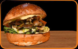 Burger Veggie Halloumi