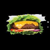 Grand Deluxe Plant Beef Burger z Serem w Sałacie (wege)
