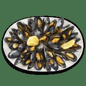 Mejillones Al Vapor Con Limón