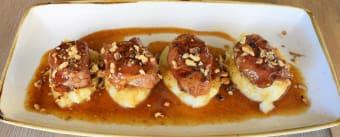 Medalion de porc in crusta de jambon cu miere