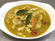 Pollo con Curry Verde alla Thailandese