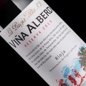 Вино Vina Alberdi Reserva, La Rioja Alta Іспанія (375мл)