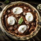 Pizza Napoli e gorgonzola Ø 40cm