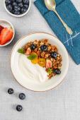 Гранола Боул з йогуртом, ягодами і горіхами (300г)