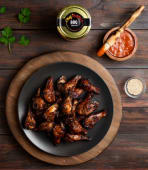 Smoked BBQ Wings