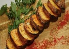 Картопля на вугіллі з салом (300г)